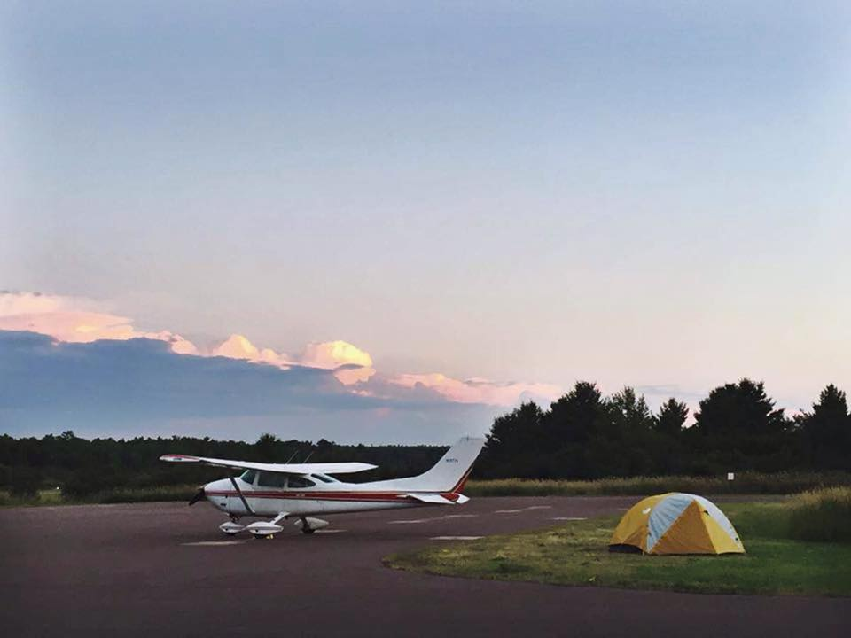 camp under wing of 50437